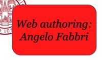 Web authoring: Angelo Fabbri